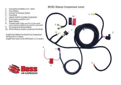 Wiring Diagram For Boss Air Compressor : V air compressors boss suspension